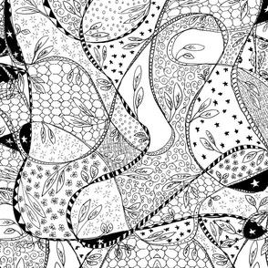 planning the garden doodle