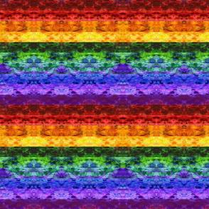 Rainbow Stripes Quilt