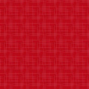 Atomic Age Linen Red