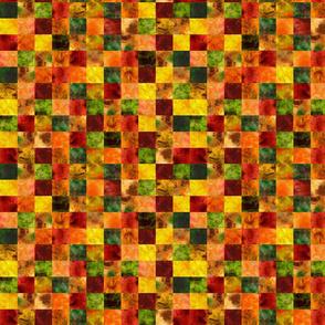 Autumn Leaves Blocks Quilt