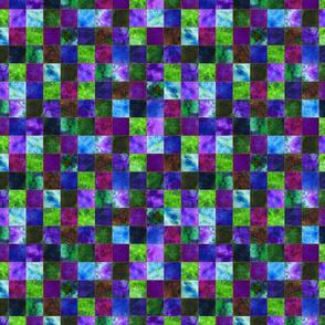 Peacock Blocks Quilt