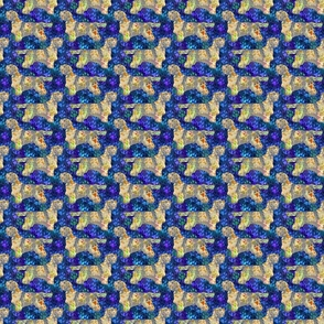 Cosmic Standing Petit Basset Griffon Vendeen - night