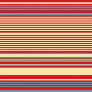 Stamped!: Horizontal Stripe 1
