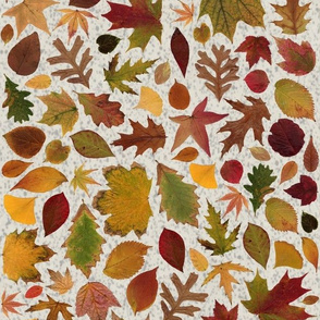 Autumn Leaves Speckled