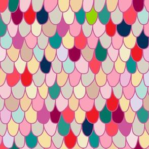Jellybean Scallop, Plum
