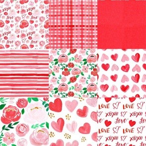living in love valentines cheater quilt