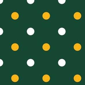 Green and Yellow Polka Dot 1
