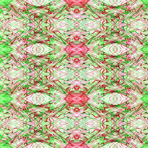 Christmas Diagonal Red Green Plaid