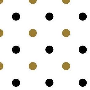 Black and Gold Polka Dot 3
