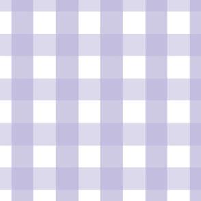 gingham 2in light purple
