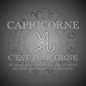Horrorscope Capricorne Fun