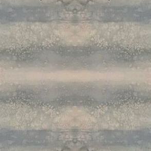Muted Blue & Tan Striped Watercolor