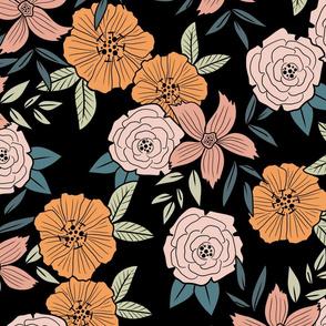 Vintage Floral Theme