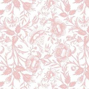 Ornate Floral Pink