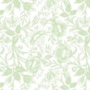 Ornate Floral Mint