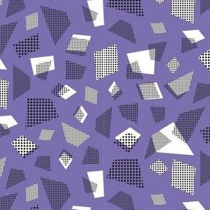 Retro dot shapes