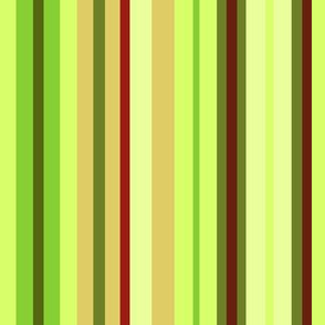 Forest Moss Stripes