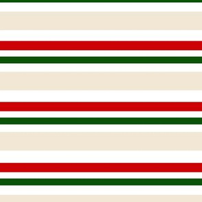 BKRD Candy Cane Christmas Stripes Traditional 12x12