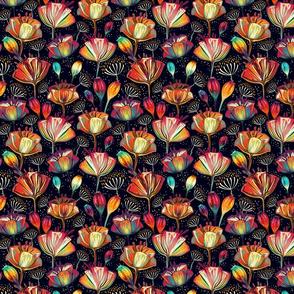 poppy multicolor