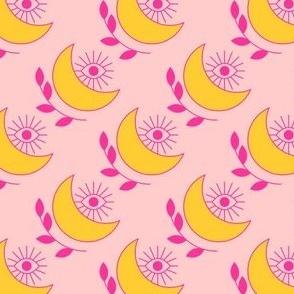 Crescent Moon Evil Eye