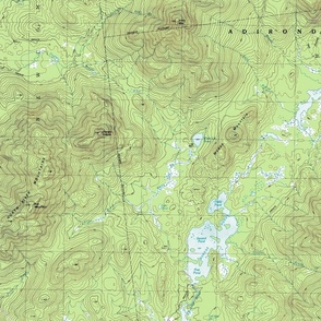 1979 USGS topographical map (Mount Marcy, New York)