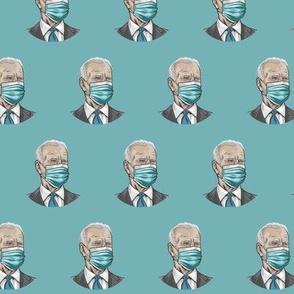 Joe Biden with facemask
