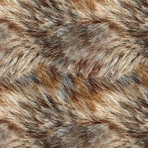 Alaskan Wild Faux Fur 4x4 Repeat