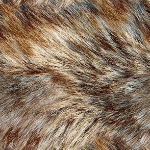 Alaskan Wild Faux Fur 6x6 Repeat