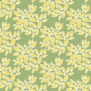 FLORAL, floral pattern, green floral.