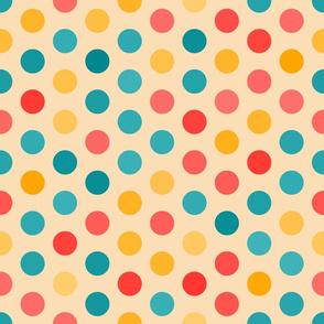 large circles, kids room, kids, multicolor Polka dot, children room, bright, cheerful, kids stuff, children, large scale, multicolor, polka dots, polka dot