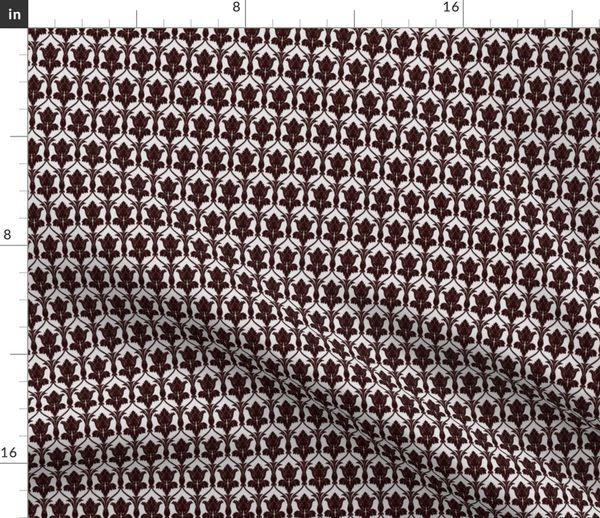 Fabric By The Yard Sherlock Wallpaper Pattern
