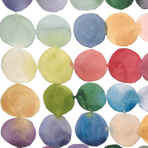 Large-Scale colorful spots