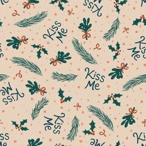 Kiss Me | Mistletoe | Neutral