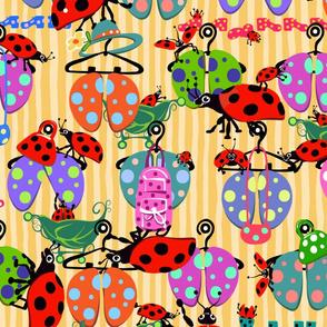 Ladybug Boutique | Yellow | Large
