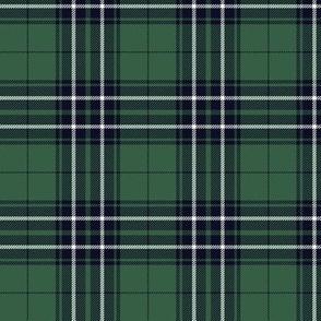 """MacLean / MacLean of Duart hunting tartan, 3"""" weathered colors"""