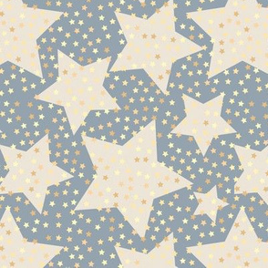 stars, star pattern, gold stars, geometric, sparkling sky, grunge, grunge style, youth, fashion style, trendy, muted, gray, classic