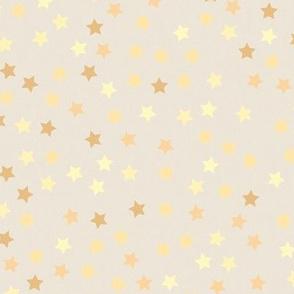 gold stars, beige, baby nursery, sky, baby, baby stuff, sparkle, nursery, stars, soft, delicate, star pattern, starry, vanilla skies