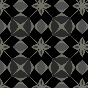 Tile black and grey