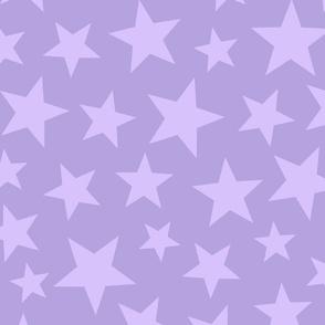 scattered stars - purple
