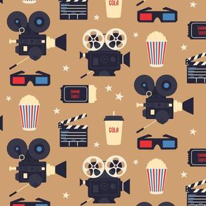 Cinema retro - brown