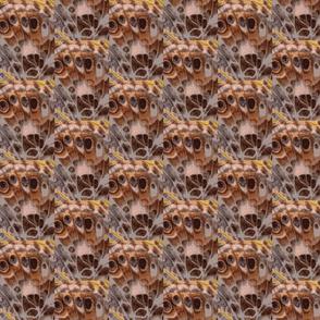 Brown Butterfly Wing,Basket Weave