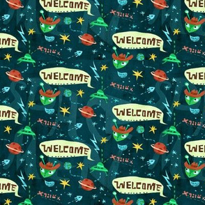 Aliens Welcome!