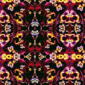 Violet Floral,  Botanical Prism