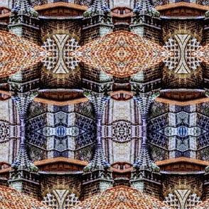 Intricate Spires of Ancient Avilla,  Macro Mirror