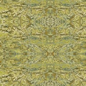 GreenYellow Bronzite Etching