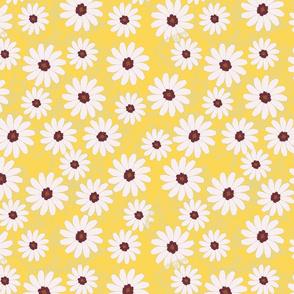 Yellow Daisy Carpet