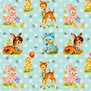 ANIMAL BABIES (BLUE)