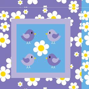 Little Birdy Mini Cushions FQ