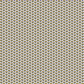 pixel heart (rainbow stripe) (tiny)