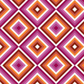 Lesbian Pride Tiles